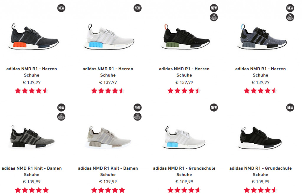 adidas NMD R1 white rose / ADIDAS NMD R1 ICEY BLUE Women's